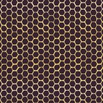 Aubergine Honeycomb