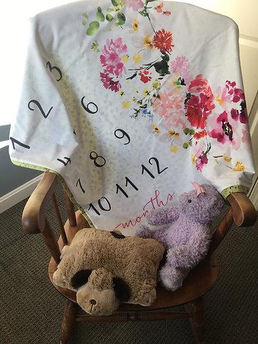 Baby Girl Milestone Mat Kit