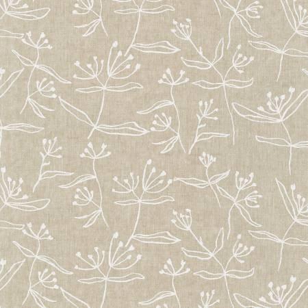 Flax Floral Cotton/Linen Blend