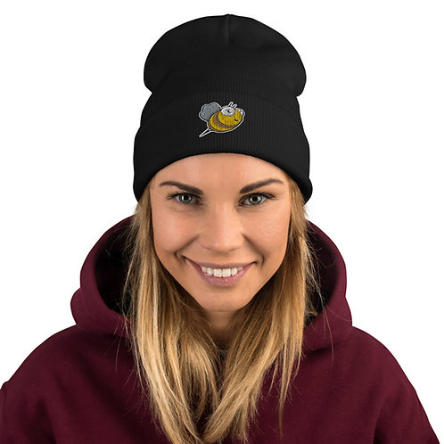 Embroidered Beenie
