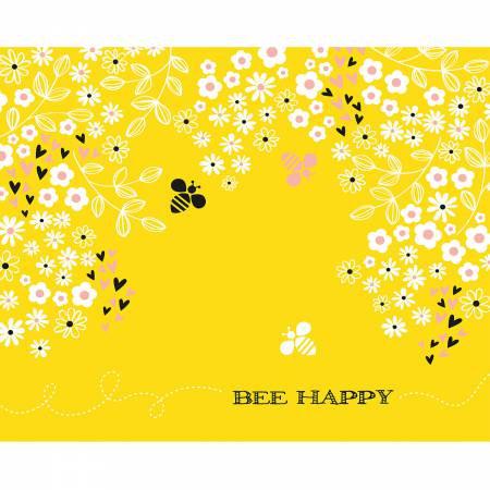 Sunshine Bee Happy Panel
