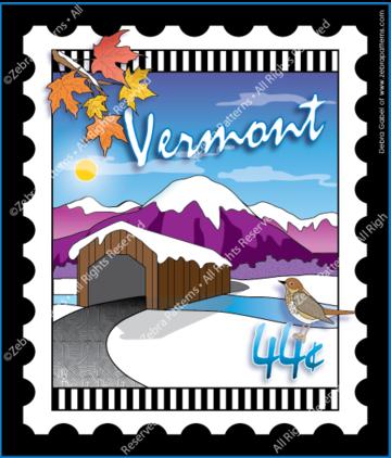 Vermont Stamp Panel