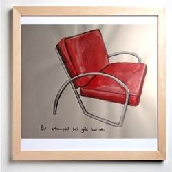 The armchair like an auto interior