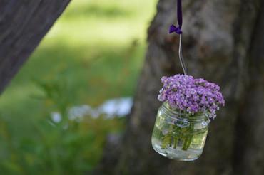 Lanternine con fiori