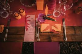foto allestimento tavolo