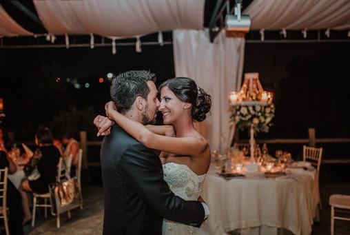 Foto centrotavola matrimonio