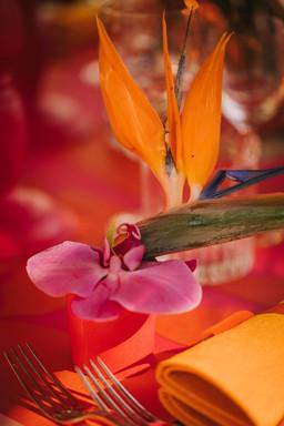 Segnaposto floreale