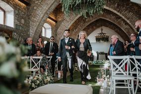 Corsia fiori per matrimonio