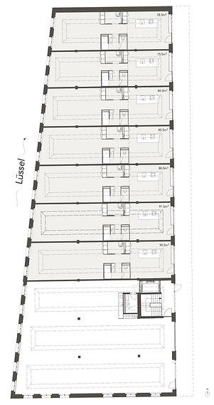 Grundriss EG Lofthaus