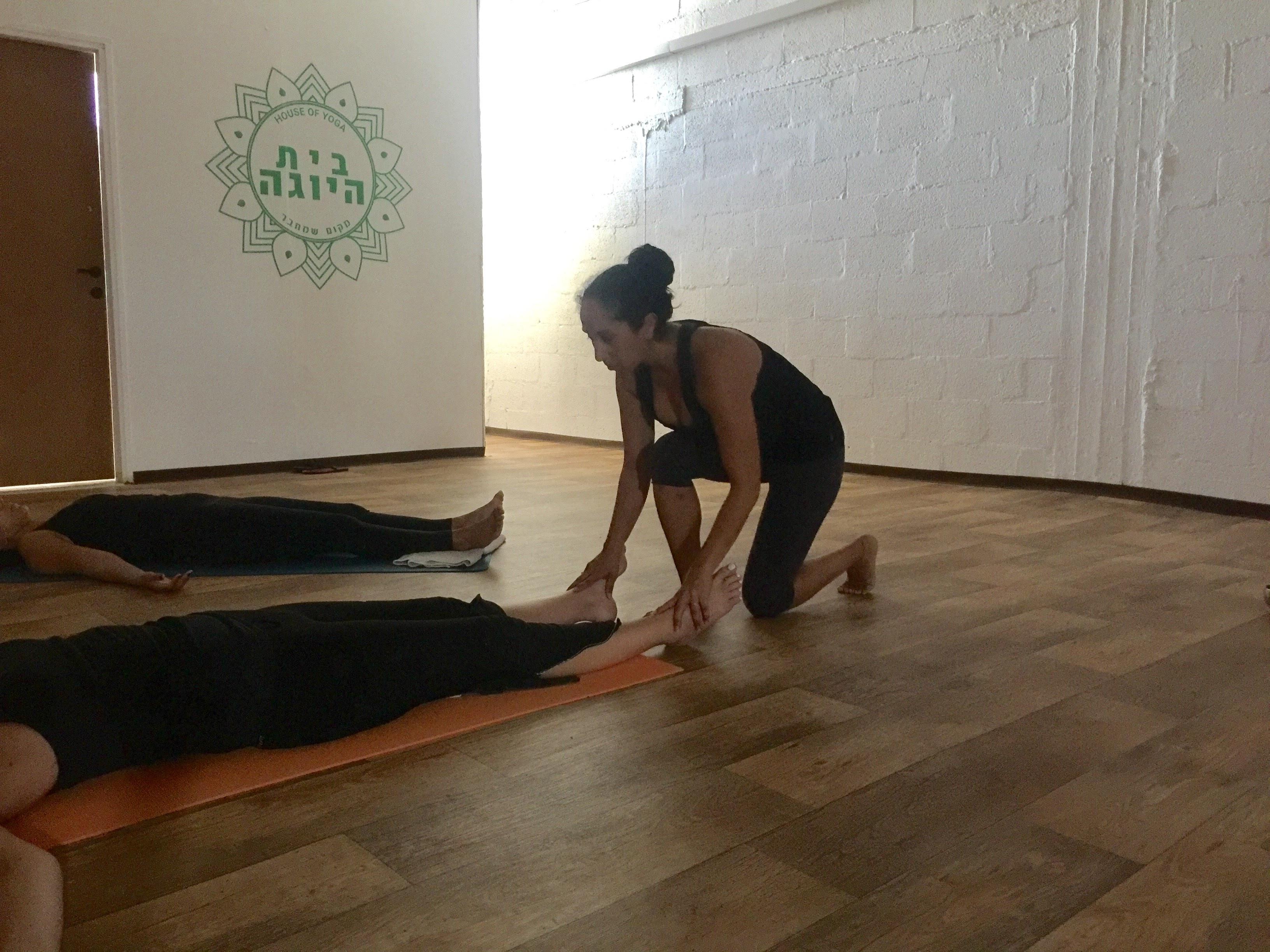 בית היוגה| ראשון לציון | מורן גנון