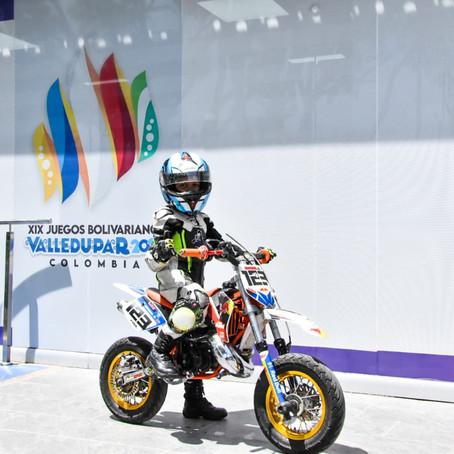 INDUPAL APOYA A LOS NUEVOS TALENTOS DE LA MOTOVELOCIDAD EN VALLEDUPAR