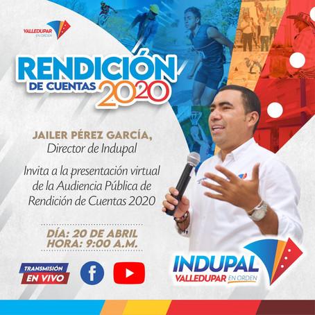 RENDICIÓN DE CUENTAS VIGENCIA 2020