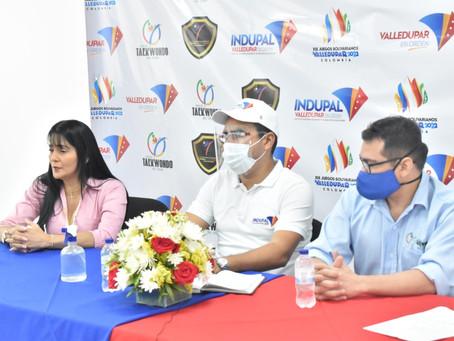 GOBIERNO MUNICIPAL APOYA GRAND PODIUM DE TAEKWONDO VALLEDUPAR 2020