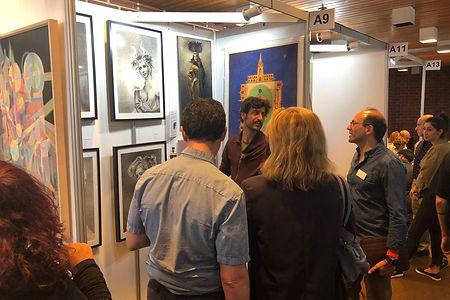 Ethan Honary Art Exhibition