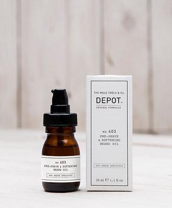 No. 403 Pre-Shave Softening Beard Oil