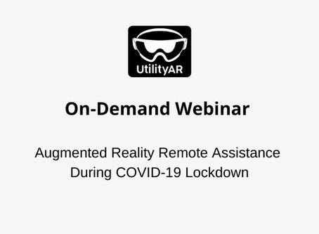 UtilityAR On-demand Webinar
