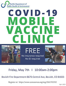 COVID-19 MOBILE VACCINE CLINIC_May 7 BEU