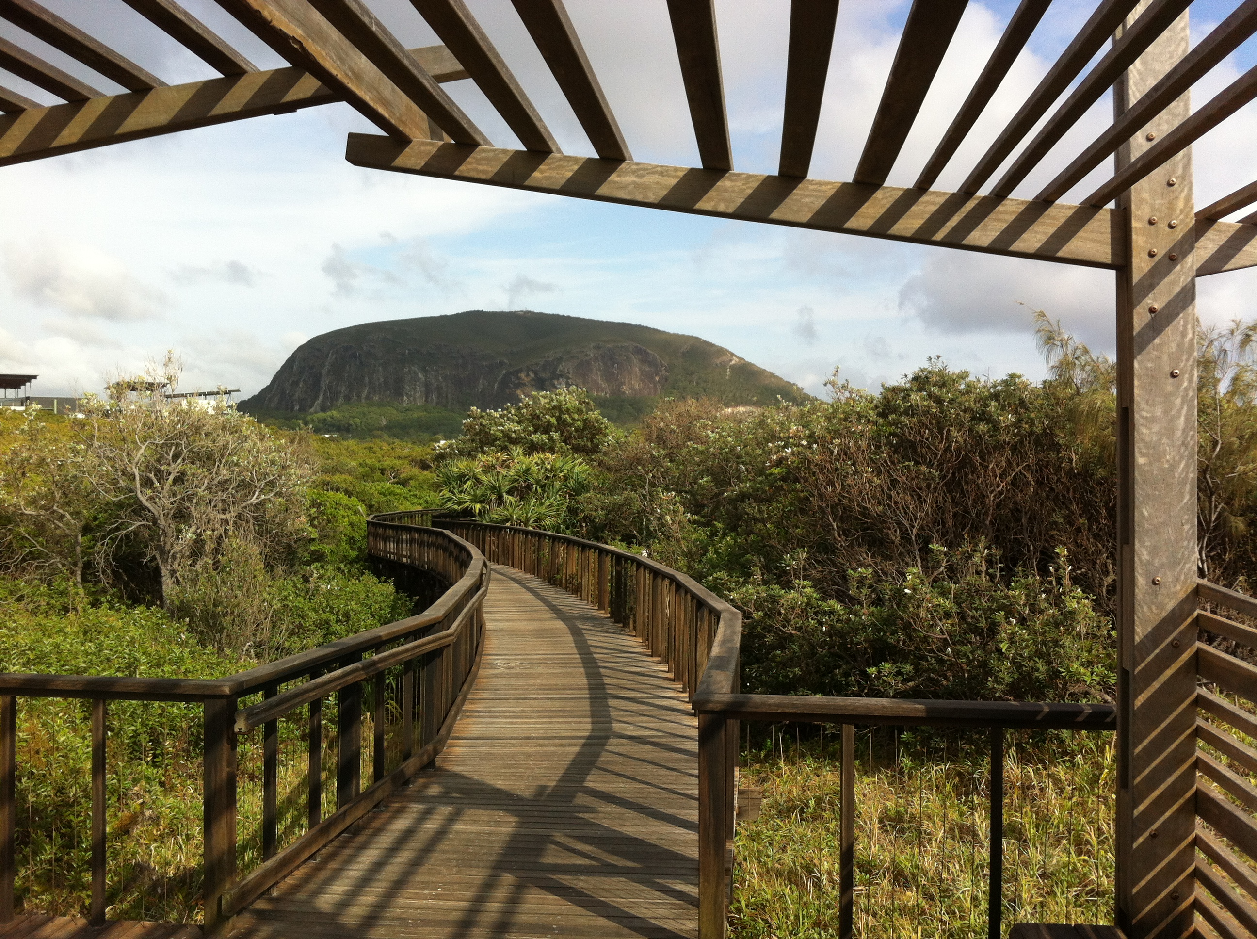 Mount Coolum Beach boardwalk