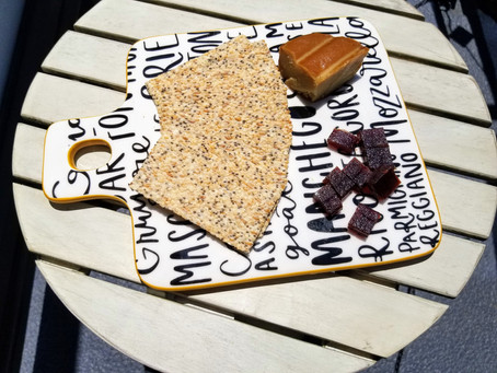 Jilz Crackerz and Miyoko's Cheese Platter Recipe