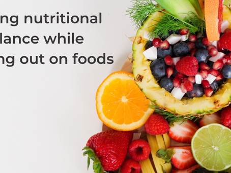 Six ways to balance nutrition when opting out of certain foods