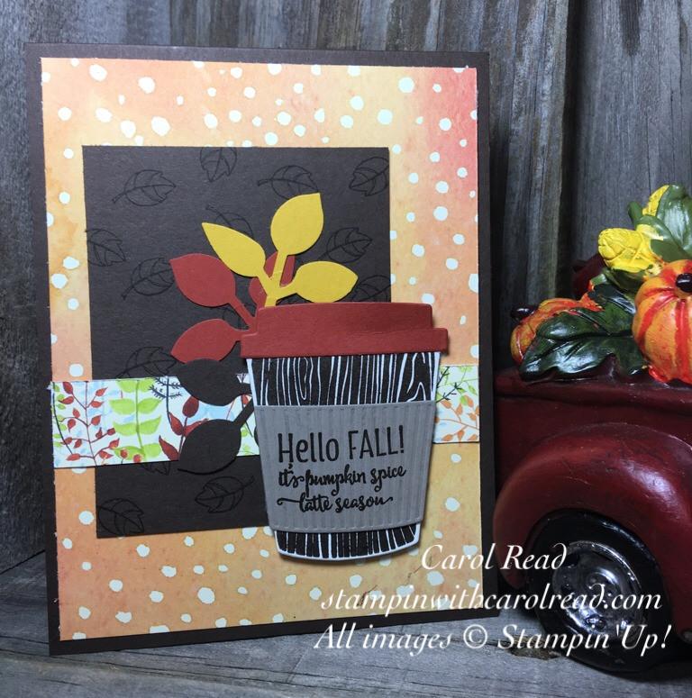 Merry Cafe Stamp Set