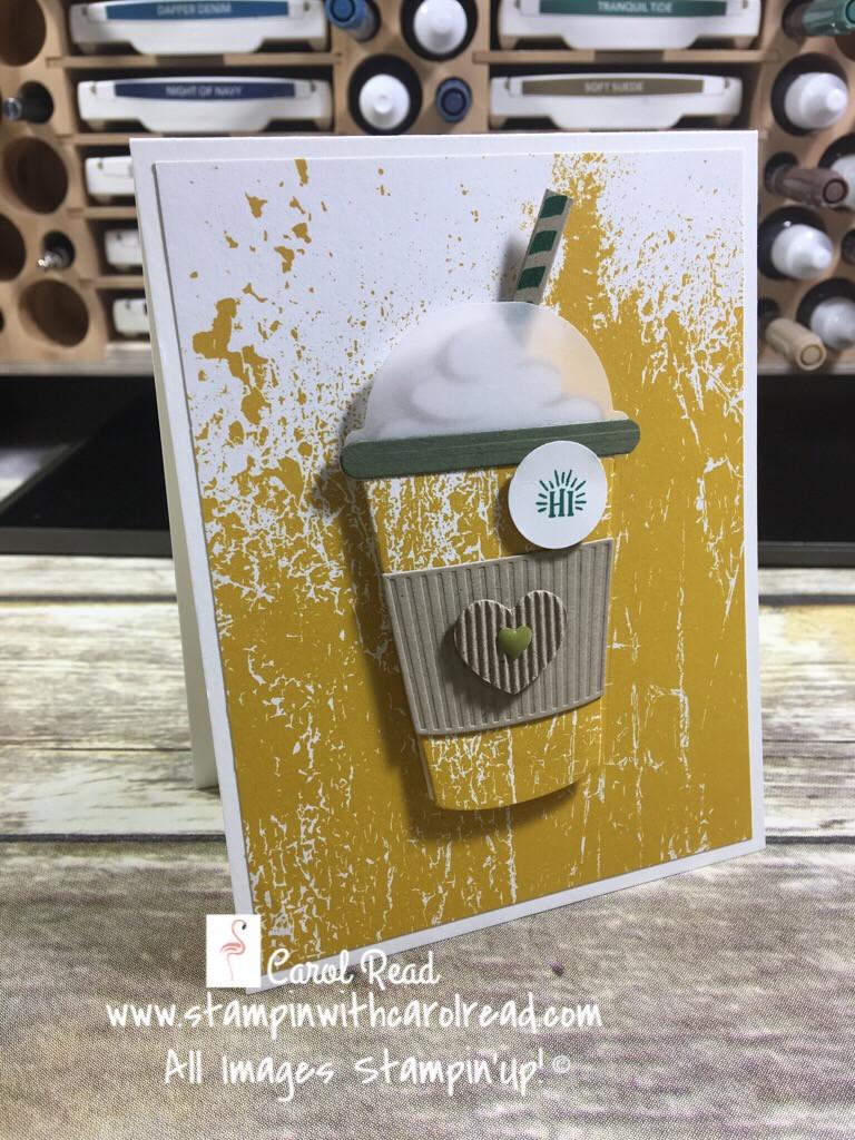 Coffee Cafe stamp set