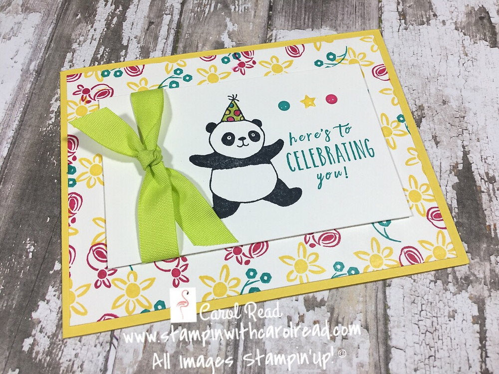 Party Pandas Stampin Up!