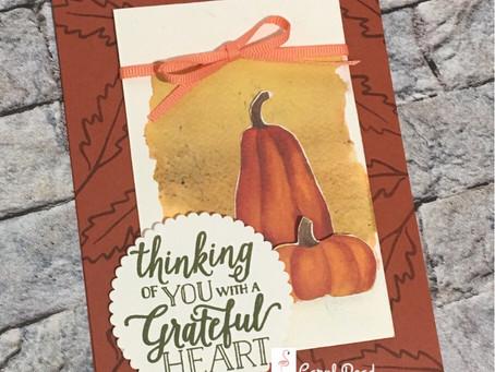 Grateful Heart Pumpkins