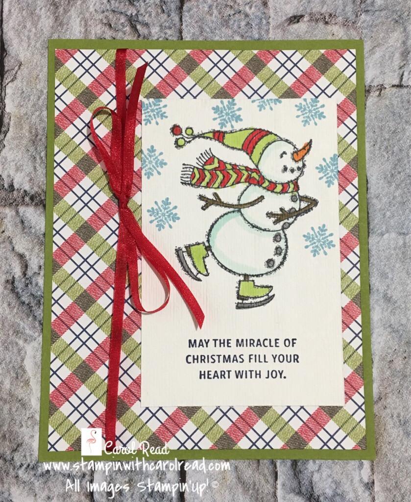 Spirited Snowmen stamp set