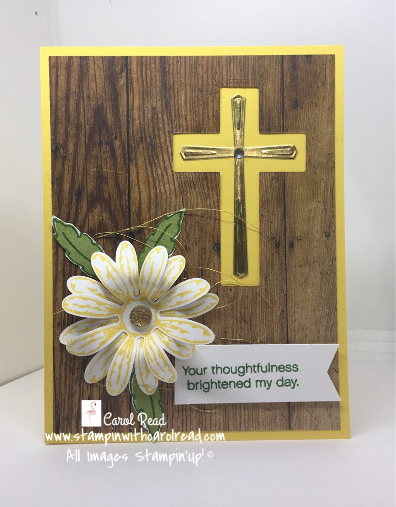 Cross of Hope and Daisy Delight