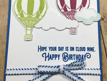 Lift Me Up- Birthday Card