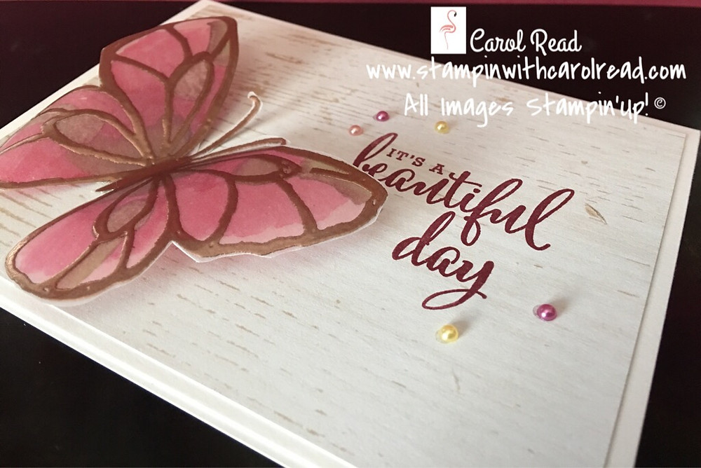 Beautiful Day stamp set by Stampin Up!