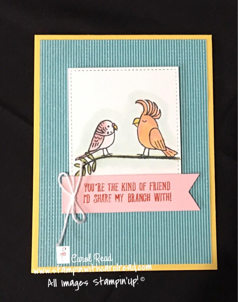 Bird Banter Stampin Up!