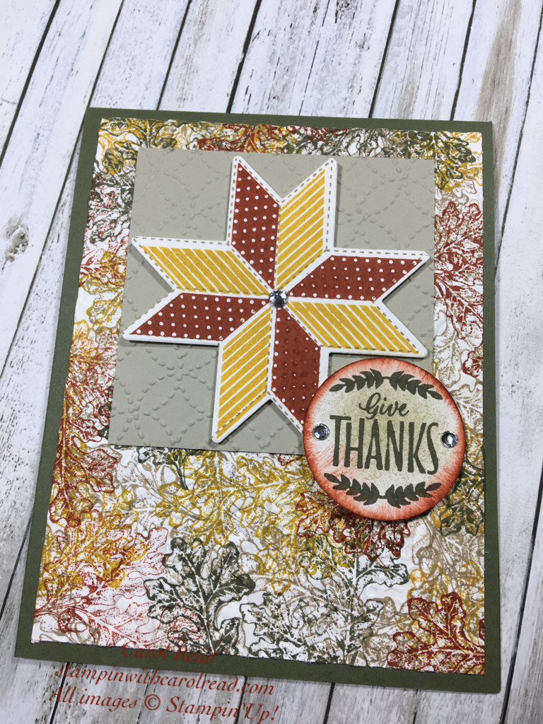 Give Thanks, Christmas Quilt