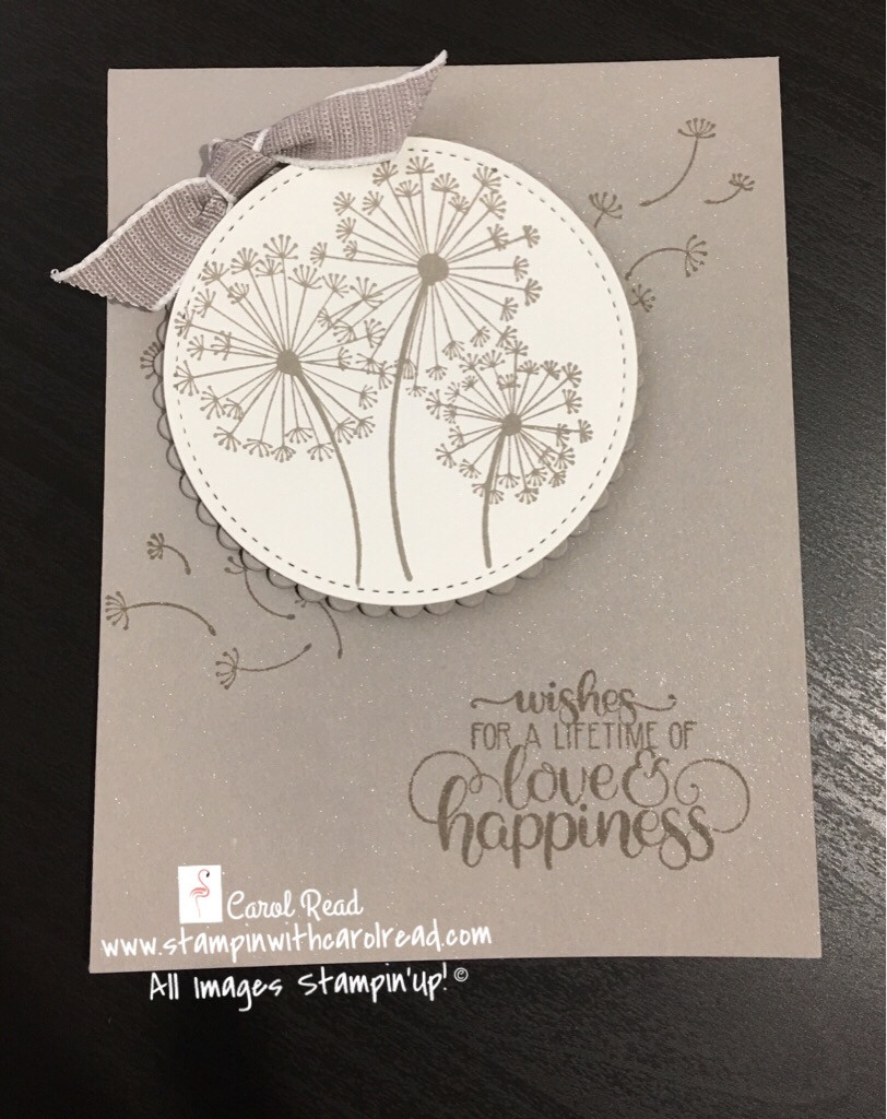 Dandelion Wishes stamp set