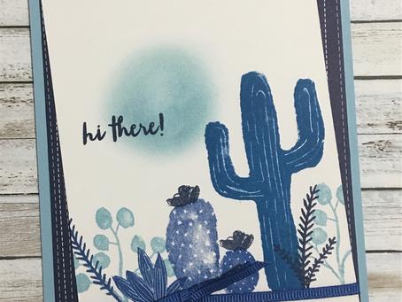 Flowering Desert Blue