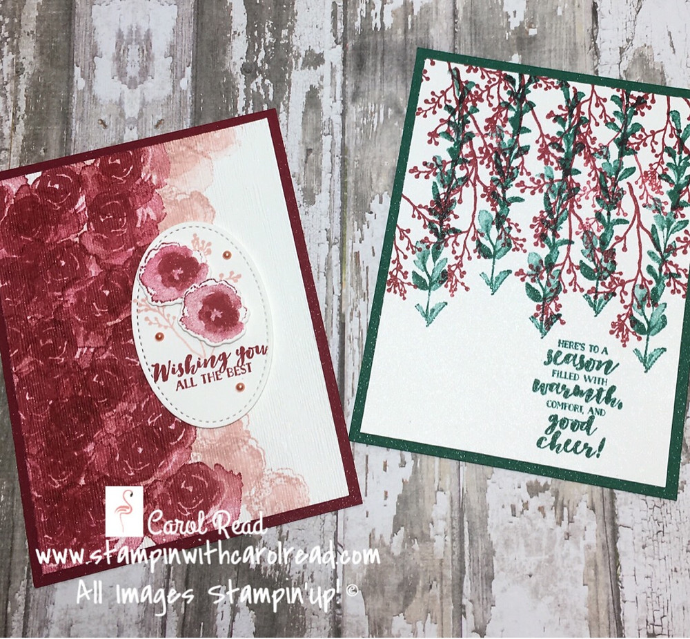 First Frost stamp set