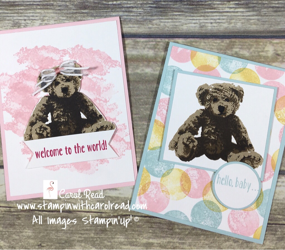 Baby Bear Stamp Set