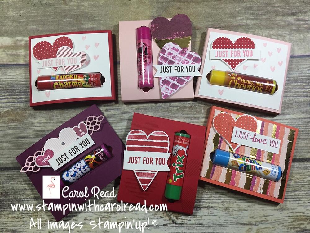 Lip Balm Valentines