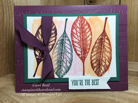 Vintage Leaves-You're the Best