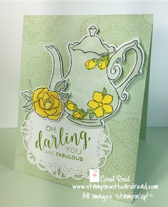 Tea Together Stampin Up!