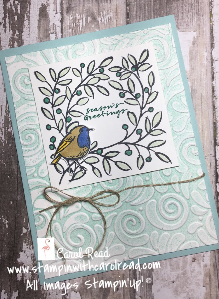 Feathers & Frost stamp set
