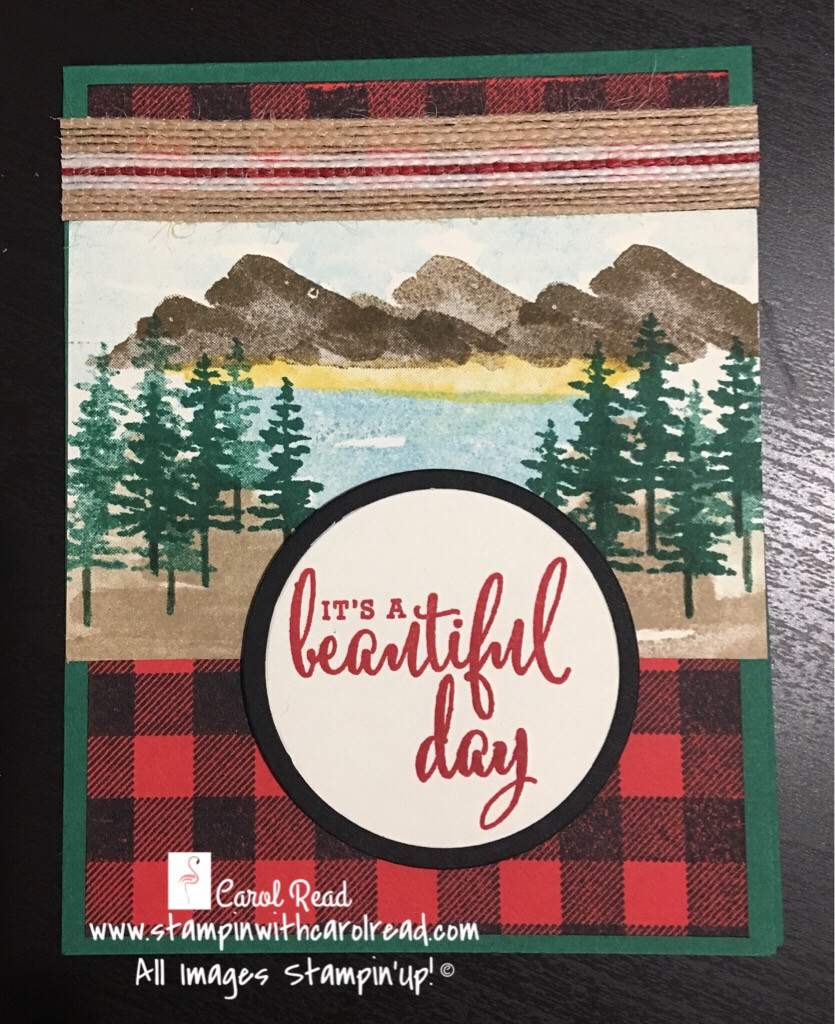Waterfront Stampin Up!
