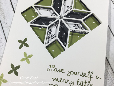Christmas Quilt - Stampin'Up!