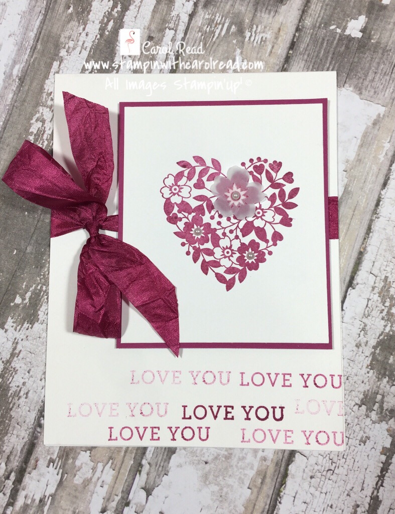 Bloomin Love stamp set