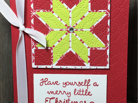 Quilt Builder - Merry Lil Christmas