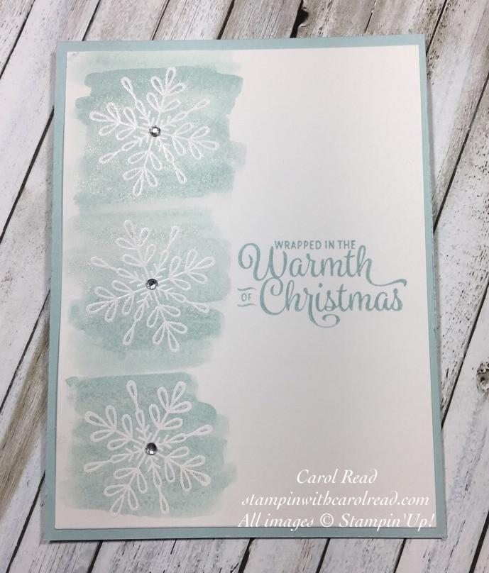 Snowflake Sentiments stamp set