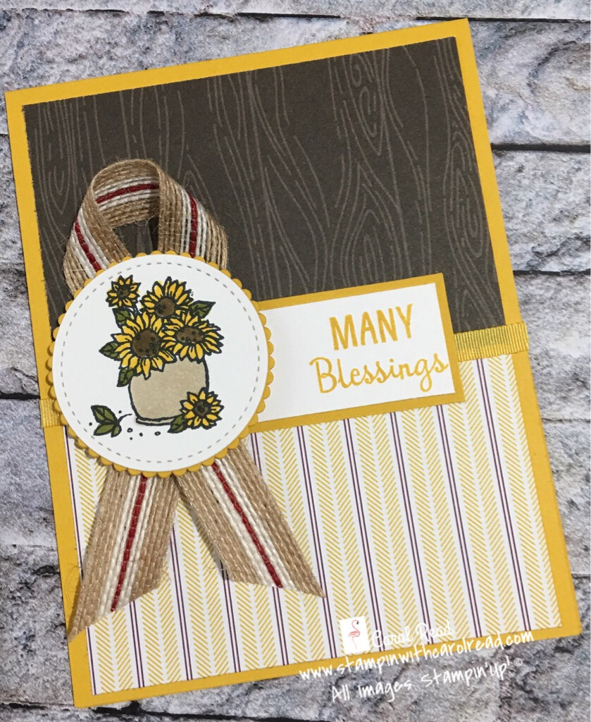Many Blessings stamp set