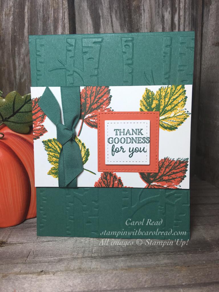 Leaf Gourd Goodness Stampin Up