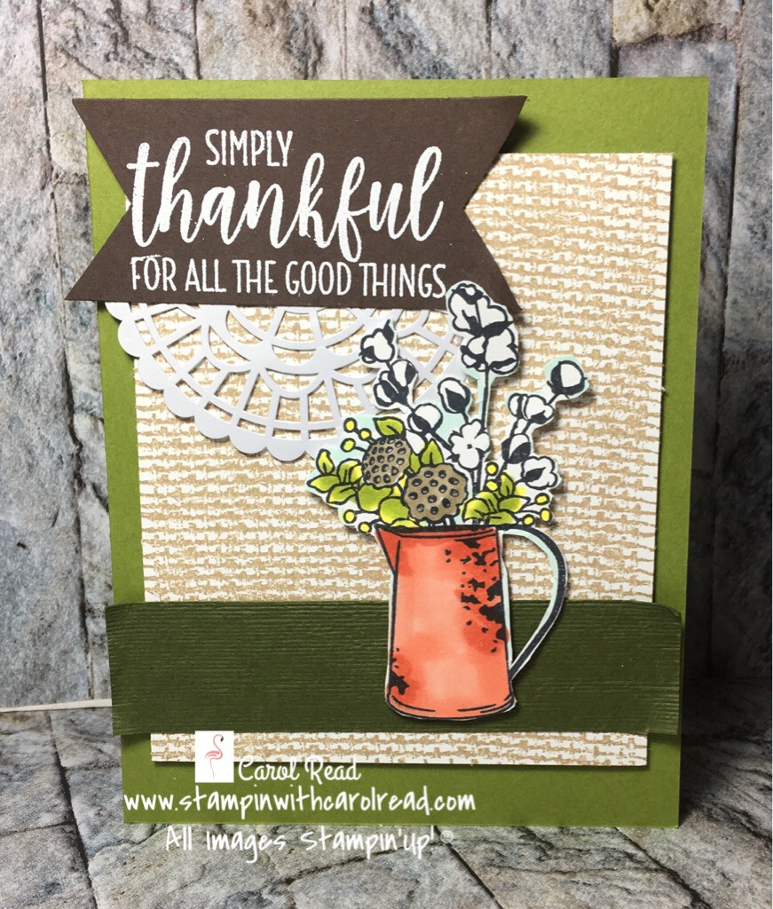 Country Home stamp set